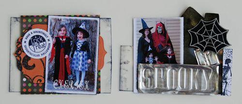 Simoni Boo Book stamp on paint deboss metal