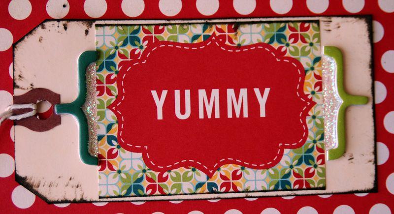 Sugar cookie Yummy close up
