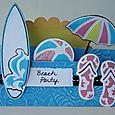 Mountain card beach party HS