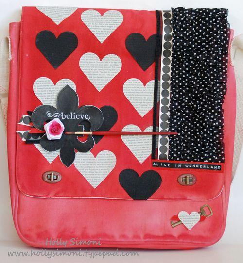 HSimoni Alice theme Prima Canvas Bag