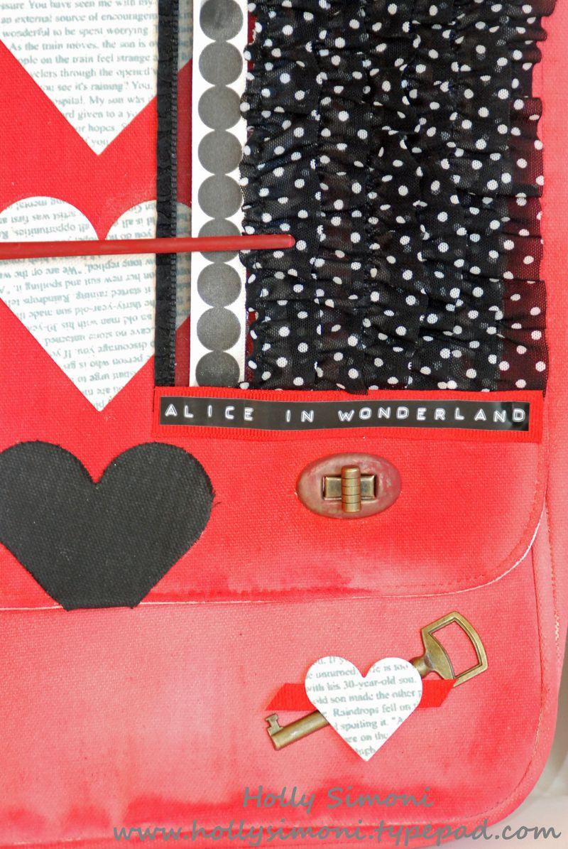 HSimoni Alice theme Prima Canvas Bag 11