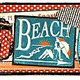 Vintage beach card 1