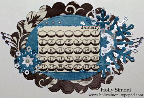Holiday Hoppin Calendar January