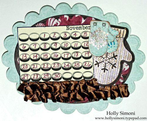 Holiday Hoppin Calendar November