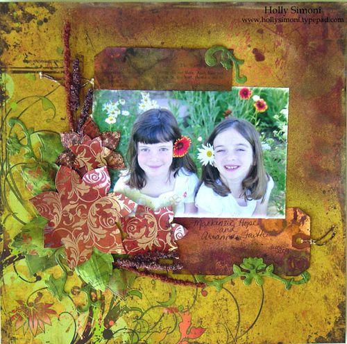 Autumn Girls layout