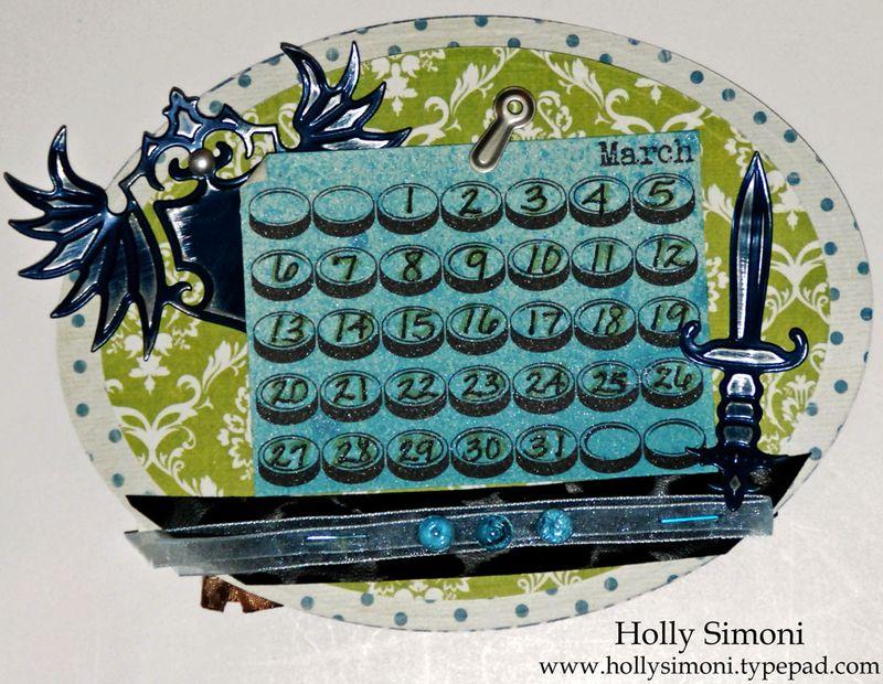 Holiday Hoppin Calendar March