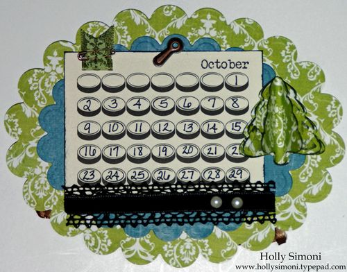Holiday Hoppin Calendar October