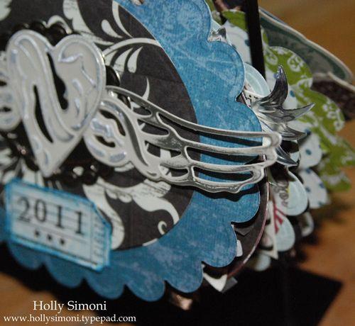 Holiday Hoppin Calendar cover detail