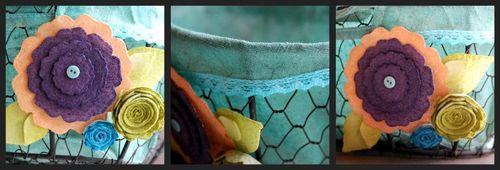 Picnik basket collage