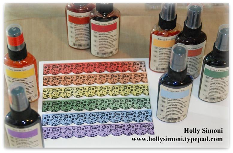 Rainbow card 2