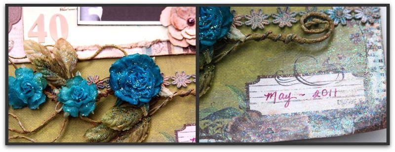 40th bday glam Picnik collage