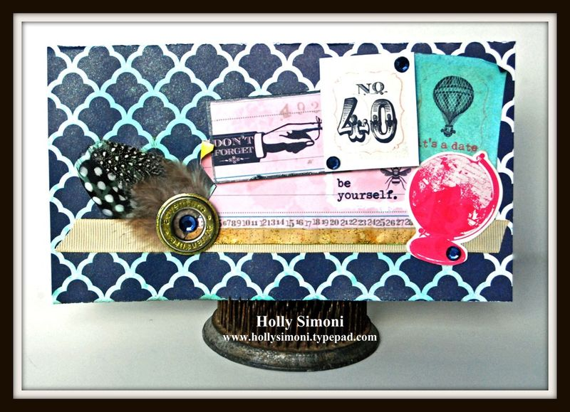 HS Pink Paislee Card