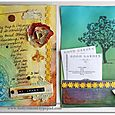 Vacation Journal double pages