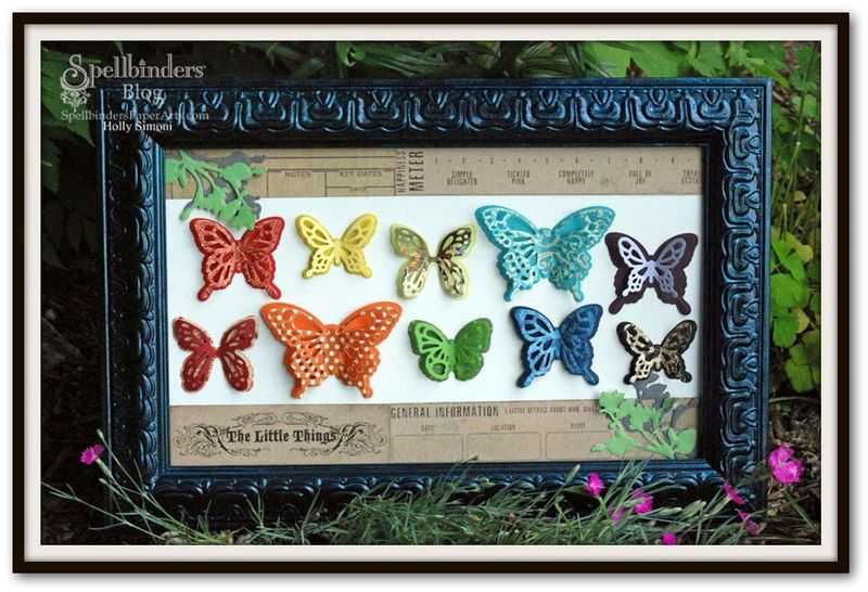 HS Butterfly Frame frenzy