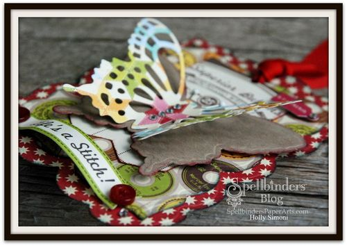 Butterfly BookMark Tag 4