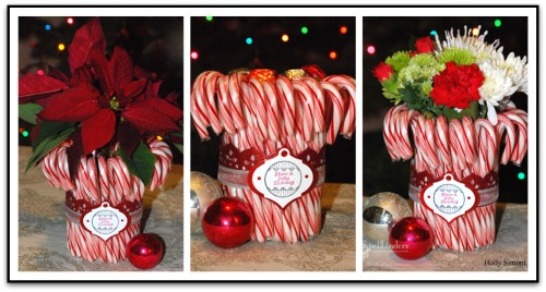 HS Candy Cane Dish 3 Ways