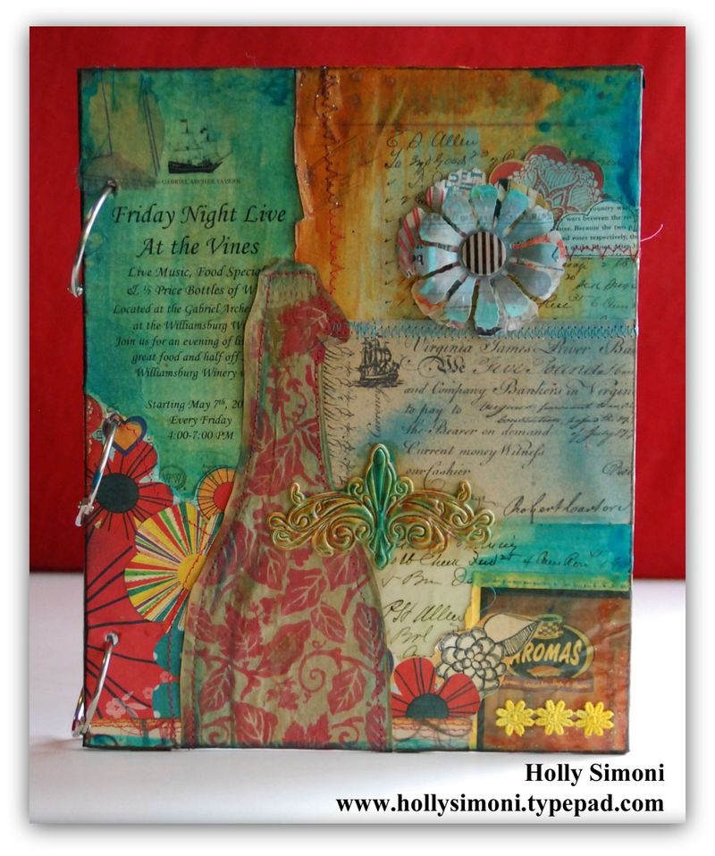 Vacation Journal front cover