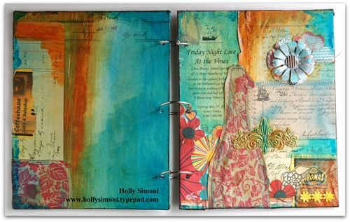 Vacation Journal both covers