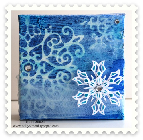 HS Snowflake canvas