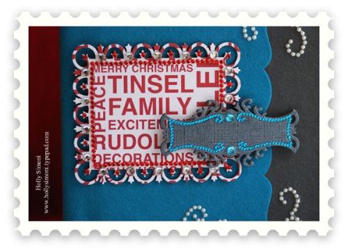 HS Felt Journal close up1