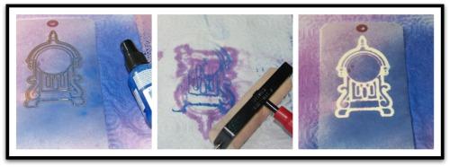 HS NYear blue mist collage