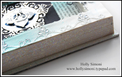 Book finished side sparkle