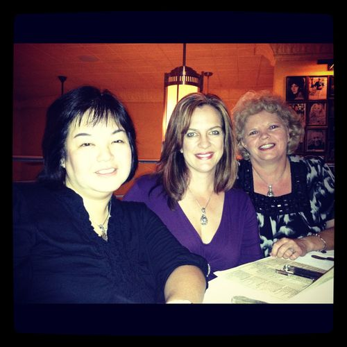 Margie, me and terre