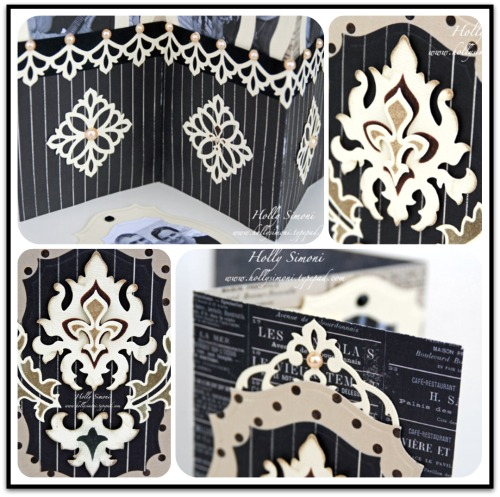 HS Damask Album collage