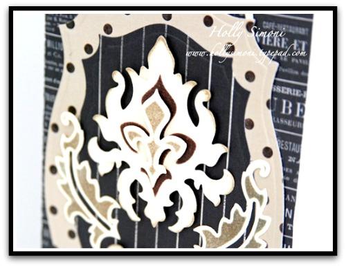 HS Damask Album close up cover