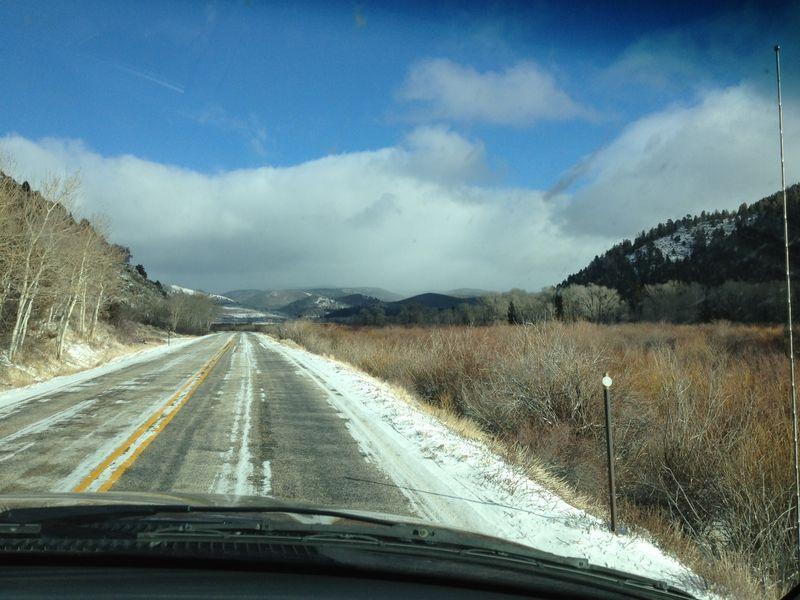 Zuzu mountain road