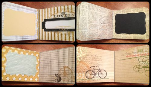 Holly Simoni Baby Album inside pages 2