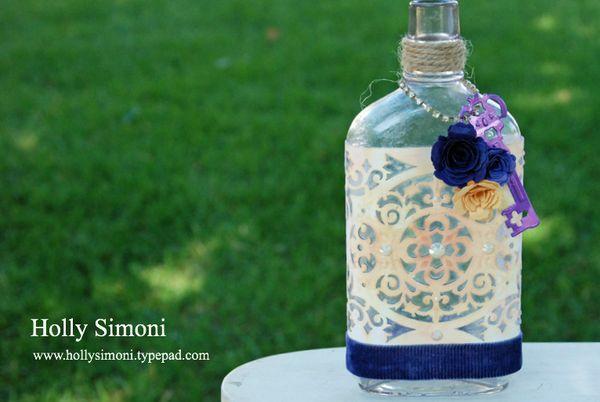 HS Vintage Bottle Tapestry LabelAa