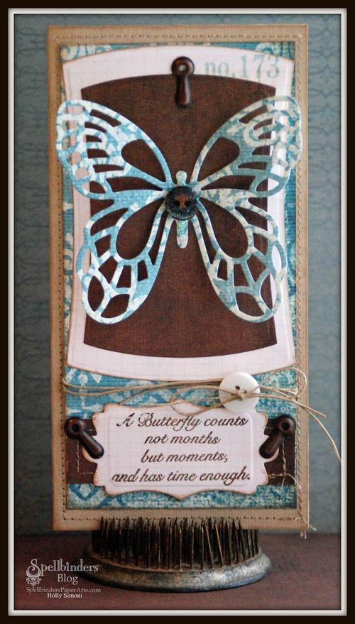 Butterfly card final dark