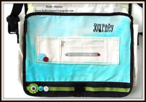 HS Canvas Bag inside flap 1