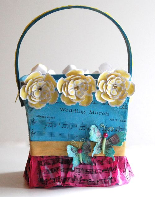 Flower girl basket only