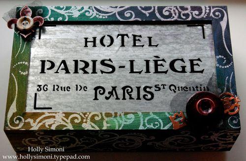 Holly Simoni TA wooden Paris box