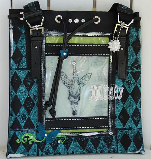 Holly Simoni  mini handbag