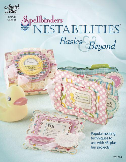 Spellbinders Nestabilities book